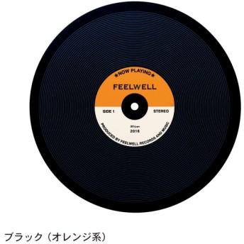 ベルメゾン IH用焼け焦げ防止マット ブラック オレンジ系 レコード