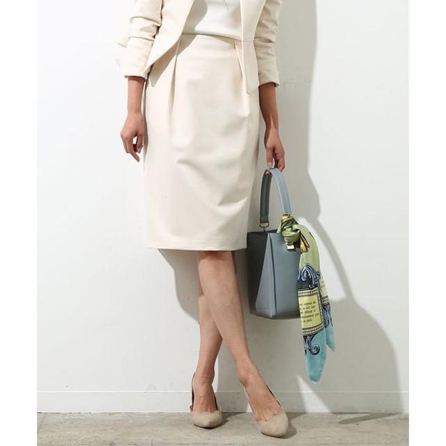 ROPE' / ロペ 【セットアップ対応】グログランタックタイトスカート