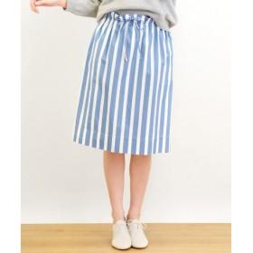NIMES / ニーム ストライプ et タイプライター スカート