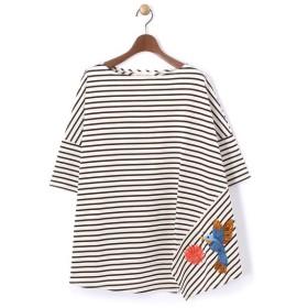 BEARDSLEY / ビアズリー 鳥刺繍カットソー
