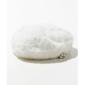 any SiS / エニィスィス フェミニンアンゴラ ベレー帽