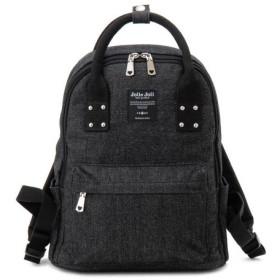 バッグ カバン 鞄 レディース リュック デニムリュックサック カラー オールブラック