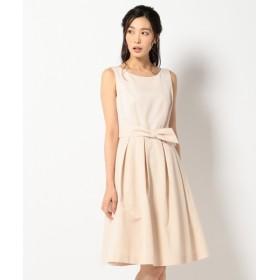 L size ONWARD(大きいサイズ) / エルサイズオンワード 【PRIER】デュエラサテン ドレス