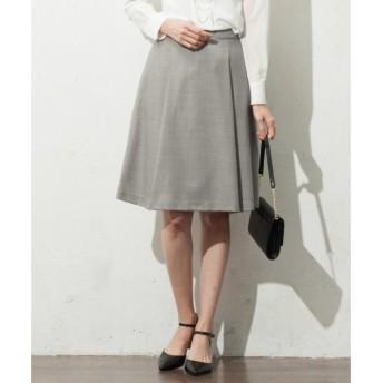 J.PRESS / ジェイプレス シルクウールスーテイング スカート