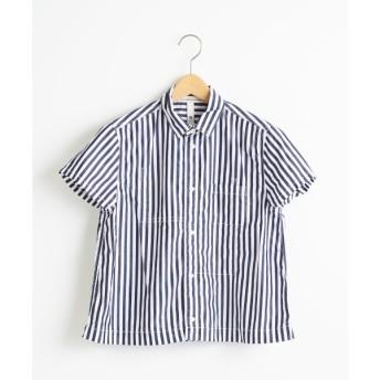 NIMES / ニーム ストライプ ワークシャツ