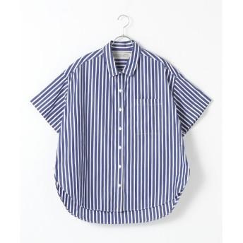 MARcourt / マーコート BIGハーフSLVシャツ