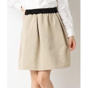 SHIPS for women / シップスウィメン グログラン ギャザースカート