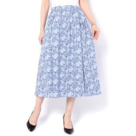 un dix cors / アンディコール リバティギャザースカート