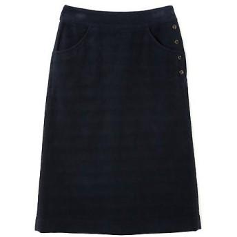 HUMAN WOMAN / ヒューマンウーマン コットンスウェードスカート