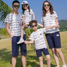 家族服 ペアルックセット ペアルック カップル 半袖 Tシャツ パンツ ワンピース お揃い ご夫婦 ペア 親子服 お兄弟・姉妹お揃い