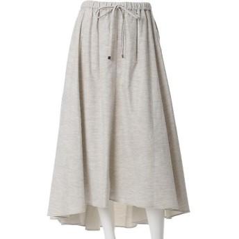 INED L / イネド(エルサイズ) 《SUPERIOR CLOSET》バックロングフレアスカート