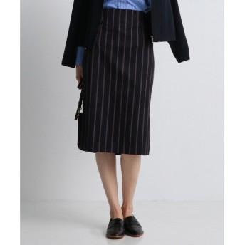 J.PRESS / ジェイプレス 【洗える!】レジメンタルストライプ タイトスカート