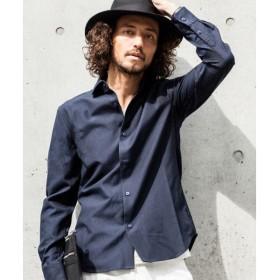 SHIFFON / シフォン 【AKM Contemporary】袖カモフラ切り替えシャツ