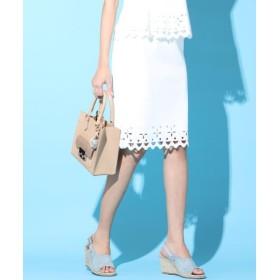 Viaggio Blu / ビアッジョブルー 【セットアップ対応】レーザーカットパンチングスカート