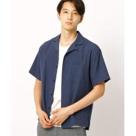 COMME CA ISM / コムサイズム オープンカラーシャツ(半袖)