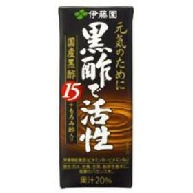 【ケース販売】黒酢で活性 200ml×24本