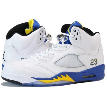 NIKE AIR JORDAN 5 RETRO 【LANEY】 ナイキ エア ジョーダン 5 レトロ WHITE/BLUE/YELLOW