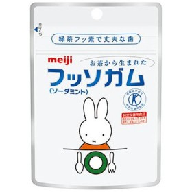 明治 meiji フッソガム パウチタイプ ソーダミント味 1袋(25g) ポイント消化