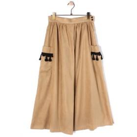 BEARDSLEY / ビアズリー 【FABRIC & TASSEL】タッセルポケットスカート