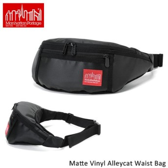正規品 マンハッタンポーテージ ManhattanPortage ウエストバッグ Matte Vinyl Alleycat Waist Bag MP1101MVL