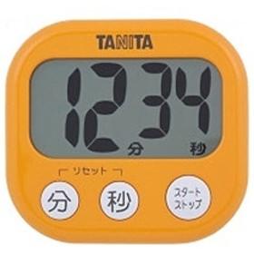 デジタルタイマー でか見えタイマー TD-384-OR アプリコットオレンジ