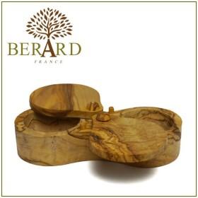BERARD(ベラール) オリーブウッド ソルトキーパー ダブル 90062