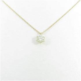 【リメイク】K18YG ダイヤモンドネックレス 0.523ct・LY ・SI1 VERYGOOD