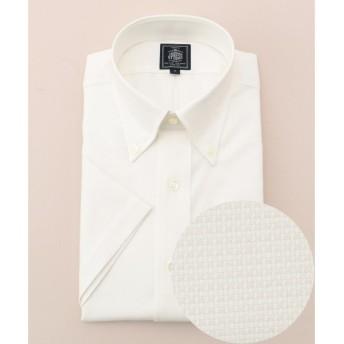 J.PRESS / ジェイプレス 【形態安定】PREMIUM PLEATS / ピンヘッド 半袖 シャツ
