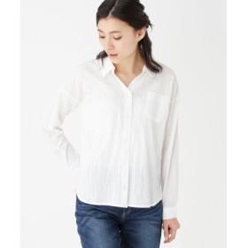 SHOO・LA・RUE / シューラルー 綿スキッパーシャツ