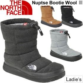 ウィンターブーツ レディース/ザノースフェイス THE NORTH FACE ヌプシブーティーウール3 女性用 防寒靴 撥水 アウトドア カジュアル 正規品//NFW51786