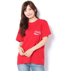Daily russet / デイリーラシット コカコーラ×VISION刺繍ポケTシャツ
