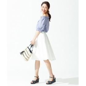 組曲 / クミキョク 【洗える】シアーチェック スカート