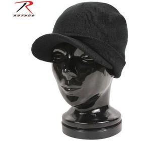 ミリタリーキャップ ROTHCO ロスコ DELUXE ACRYLIC JEEPキャップ BLACK [5409] アクリルキャップ ミリタリー帽 ブランド