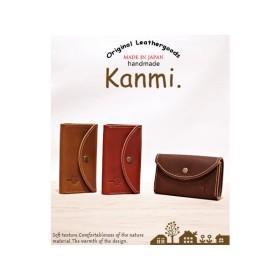 本革 レザー 革小物 kanmi カンミ マルチカードケース カードケース 名刺入れ 小銭入れ 牛革 レディース メンズ 男性用 女性用