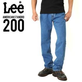 Lee リー AMERICAN STANDRD 200 フルカットデニムジーンズ ブルー(97) ジーパン メンズ ジーンズ ズボン レギュラー ブランド