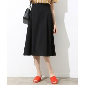 ROPE' / ロペ 【Oggi 7月号掲載】リネンライクサイドボタンフレアスカート