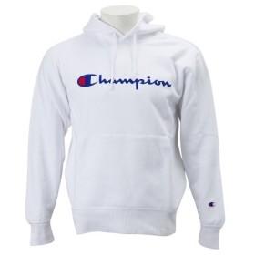 【CHAMPION】 チャンピオン ロゴプルオーバーパーカー2 C3-J117Z ホワイト