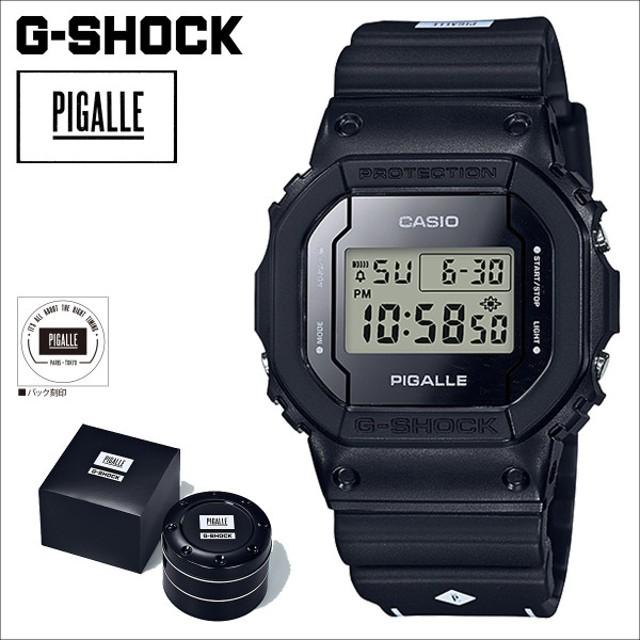 ba97701f5a2 CASIO カシオ G-SHOCK 腕時計 ピガール DW 5600PGB 1JR PIGALLE ジーショック G-ショック