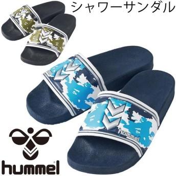 シャワーサンダル ヒュンメル_Hummel スポーツサンダル メンズ レディース 靴 シューズ ビーサン ビーチ 海 プール/HAS4019