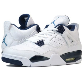 NIKE AIR JORDAN 4 RETRO 【LEGEND BLUE】 ナイキ エア ジョーダン 4 レトロ WHITE/NAVY/BLUE