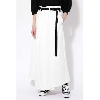 ROSE BUD / ローズ バッド ベルト付ワイドラップスカート