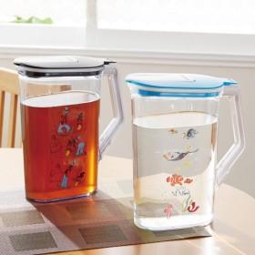 冷水筒 冷水ポット 持ち手が大きく注ぎやすい冷水筒 ミッキーマウス