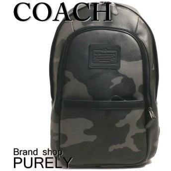 全品ポイント5倍 コーチ COACH バッグ リュック メンス バックパック カモフラージュ プリント バック パック F71995 E83 グレー カモフラージュ