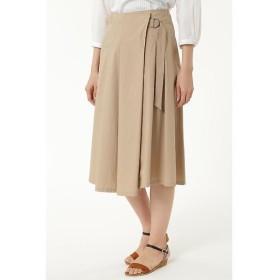 HUMAN WOMAN / ヒューマンウーマン 40タイプライタークロススカート