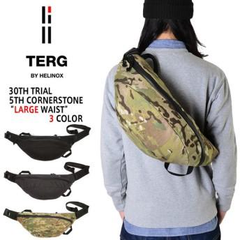 TERG BY HELINOX ターグ バイ ヘリノックス LARGE WAIST(ウエストパック) メンズ レディース ボディバッグ ミリタリー アウトドア