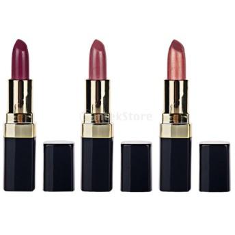 化粧品 高純度 顔料 ソフト 口紅 保湿 長持ち 3個/セット 全4セット  - #10#11#12