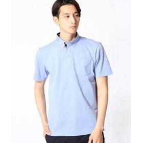 COMME CA MEN / コムサ・メン セオアルファ鹿の子ポロシャツ