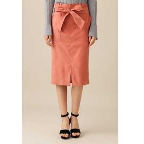 PINKY & DIANNE / ピンキーアンドダイアン スエードリボンベルト付きスカート