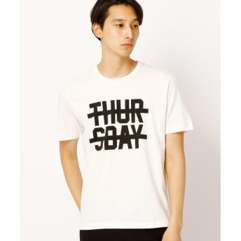 COMME CA ISM / コムサイズム プリントTシャツ