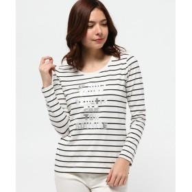 any FAM / エニィファム ('15春)超長綿ベア天 長袖Tシャツ